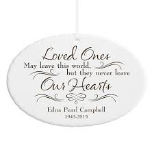 personal creations personalized never leave our hearts memorial