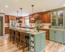 green base cabinets in kitchen 26 green kitchen cabinet ideas sebring design build