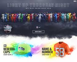 nfl color rush jerseys apparel hats nflshop com