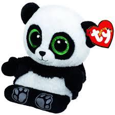 ty beanie boos peek boos phone holder poo panda bear
