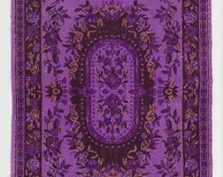Purple Union Jack Rug Vintage U0026 Contemporary Unique Handmade Rugs By Splendidrugs