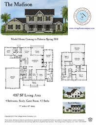 cottage home floor plans palencia st augustine fl homes for sale 32095