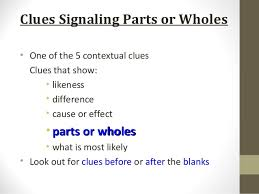 comprehension cloze power point all groups
