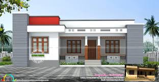 single house plan home home design one floor for april 2016 kerala and plans single