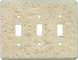 travertine light switch plates light switch covers plates mocha 3 triple toggle light