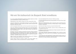 Kurparkhotel Bad Salzuflen Kurpark Hotel U2013 Relaunch Des Corporate Designs
