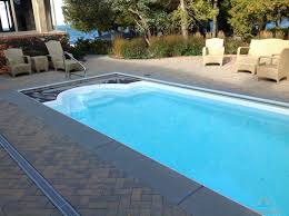 Deep Backyard Pool by Southland Fiberglass Pools