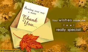 thank you for your wishes free thank you ecards greeting cards