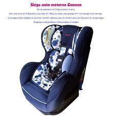siège auto sécurité materna baby
