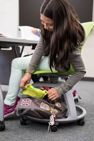 Backpack Storage by Classroom Backpack Storage With The Steelcase Node Chair