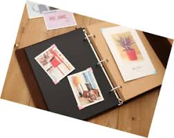 photo album with adhesive pages zoview adhesive scrapbook photo album memory book 60 pages