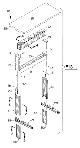 Drafting Table Height by Patent Us6510803 Height Adjustable Table Google Patents