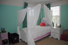 Canopy Curtains Ikea Bed Canopy Romantic And Feminine Modern Wall Sconces And