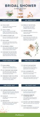 bridal shower planner bridal shower etiquette guide and checklist proflowers