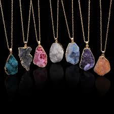 crystal necklace store images Natural stone jewelry natural stone jewelry suppliers and jpg