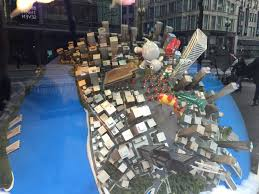 exclusive macy s makes skyline of chicago for window display
