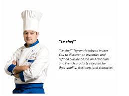le chef cuisine gastronomic restaurant la fayette