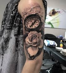 tattoo compass realistic compass rose map realism arm tattoo best tattoo design ideas