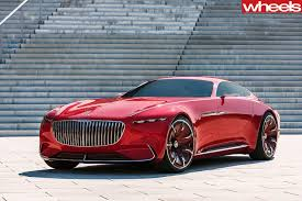 mercedes maybach 2017 frankfurt motor show mercedes maybach 6 land yacht could