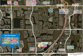 Map Of Miramar Florida by Park View Square Phillips Edison U0026 Company