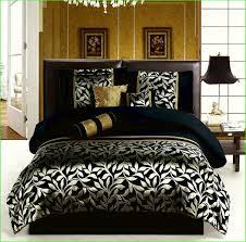 King Black Comforter Set Black And Gold Comforter Sets King Home Design U0026 Remodeling Ideas