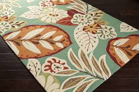 Round Tropical Area Rugs Home Decoration Accessories And More