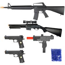 amazon com bbtac airsoft package lot of 5 airsoft guns sniper