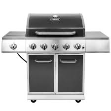Backyard Grill 5 Burner Gas Grill by Dyna Glo 5 Burner Propane Gas Grill In Gray With Stainless Steel