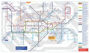 map of the underground in map