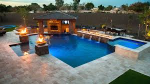 Backyards With Pools by Custom Swimming Pools And Spas Inspired By Your Lifestyle