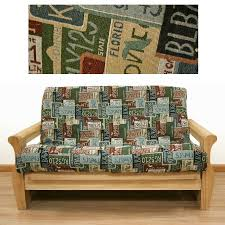 15 best printed futon covers images on pinterest futon covers
