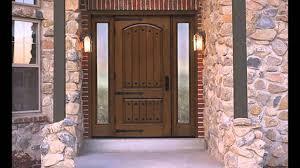 Front Exterior Doors For Homes Doors Astounding Wood Entry Doors With Glass Wood Door Designs