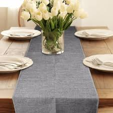 Home Table Decor by Aliexpress Com Buy 2pcs Burlap Table Runner Wedding Decoration