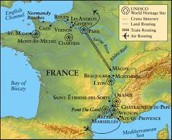 Provence France Map by Provence To Normandy Cruise The Waterways Of France Trojan Travel