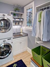 exquisite white laundry small room design ideas present