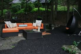 Flagstone Walkway Design Ideas by Exterior Design Hanging Outdoor Chair And Flagstone Walkway In