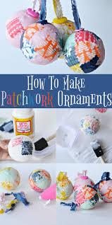 patchwork ornament craft christmas ideas pinterest patchwork
