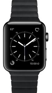 black stainless steel link bracelet images Used apple watch 1st generation 42mm space black stainless png