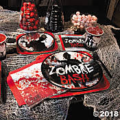 walking dead party supplies walking dead theme party this site is the bee s knees