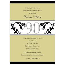 free sle birthday wishes 90th birthday invitation wording 90th birthday invitations 90