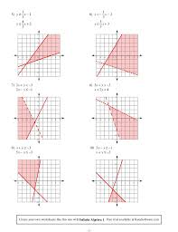 solving systems of equations by graphing worksheet answer key worksheets for all and share worksheets free on bonlacfoods com