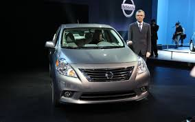 nissan versa sedan review 2012 nissan versa information and photos zombiedrive
