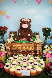teddy decorations kara s party ideas teddy picnic birthday party planning ideas