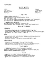 functional resume for students pdf to excel functional resume sle resumes word canada pdf thomasbosscher