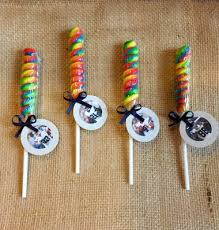 football favors dallas cowboys lollipop twist dallas cowboys party favor