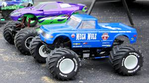 kids monster truck video learn colours with blue monster truck lightning fast monster