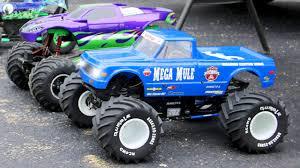 monster trucks video for kids learn colours with blue monster truck lightning fast monster
