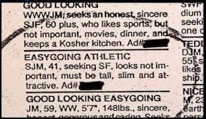 Seeking Ad 17 Hysterical Singles Ads Smosh