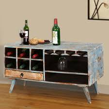 console table with wine storage wine rack console table bodhum organizer