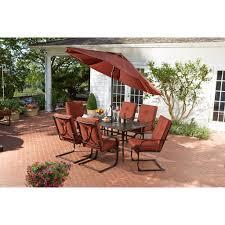 hd designs outdoors napa 7 piece patio set garden yard